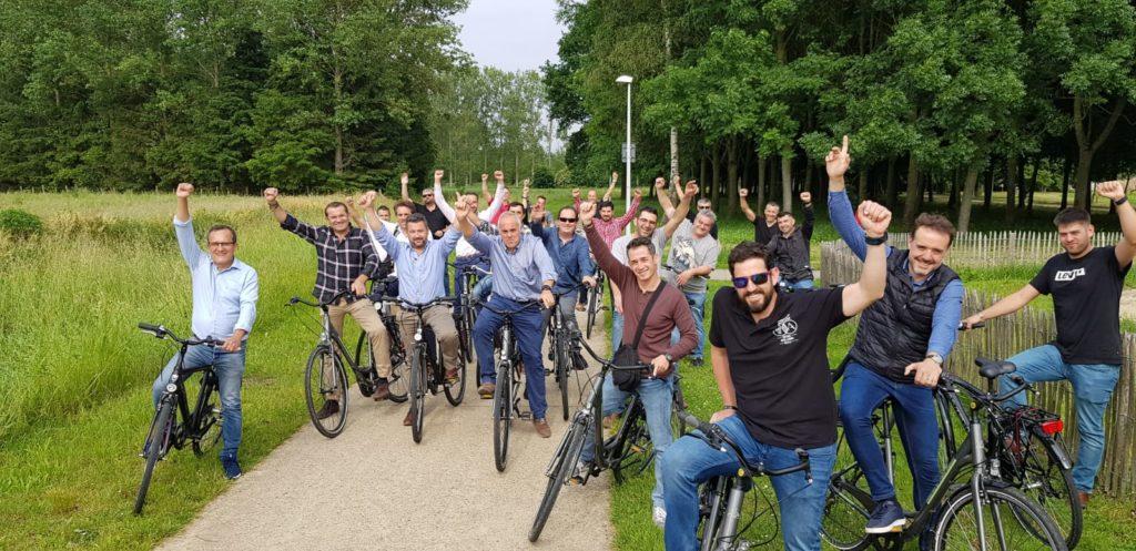 Paseo en bicicleta por los alrededores de Hasselt